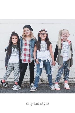 city kid style