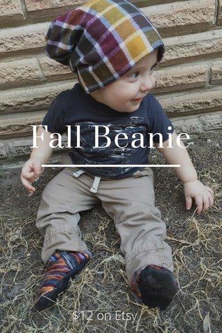 Fall Beanie $12 on Etsy