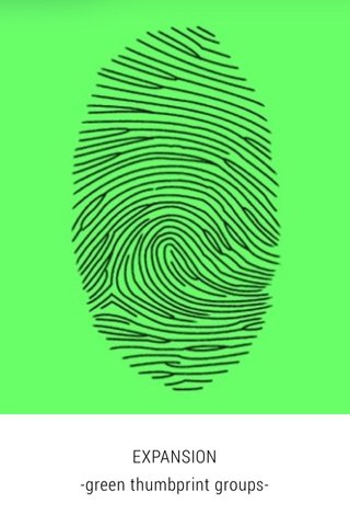 EXPANSION -green thumbprint groups-