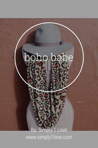 boho babe By: Simply 1 Love www.simply1love.com