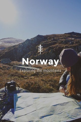 Norway Exploring the mountains