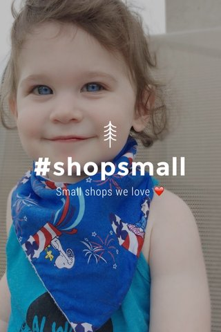 #shopsmall Small shops we love ❤️
