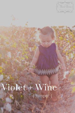 Violet + Wine | Jumper |