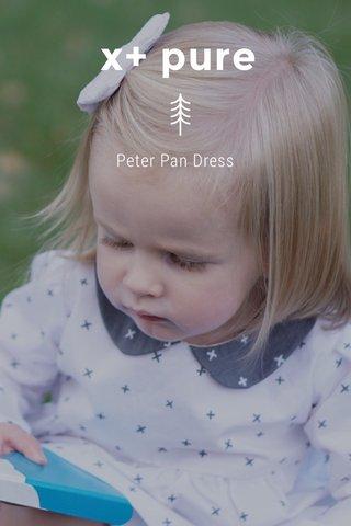 x+ pure Peter Pan Dress