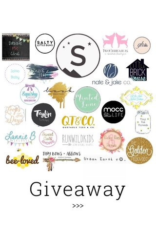 Giveaway >>>