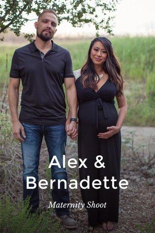 Alex & Bernadette Maternity Shoot