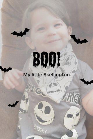 Boo! My little Skellington