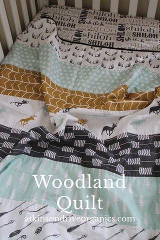 Woodland Quilt atkinsondriveorganics.com
