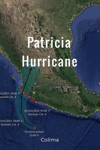 Patricia Hurricane Colima