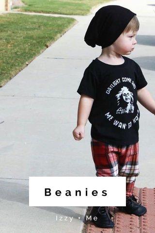Beanies Izzy + Me