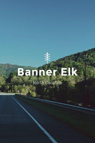 Banner Elk North Carolina