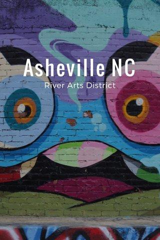 Asheville NC River Arts District