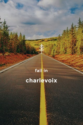 charlevoix fall in