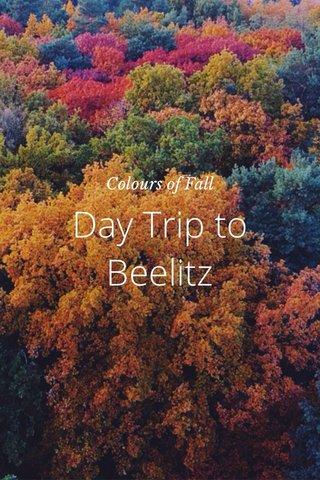 Day Trip to Beelitz Colours of Fall