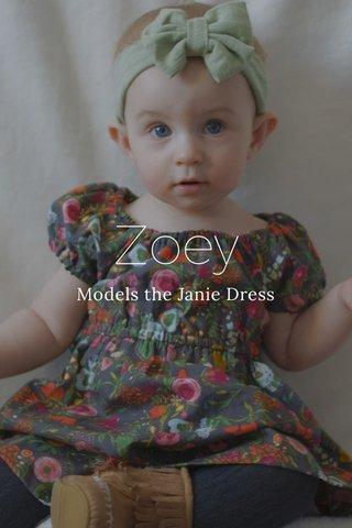 Zoey Models the Janie Dress