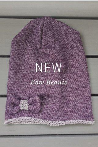 NEW Bow Beanie