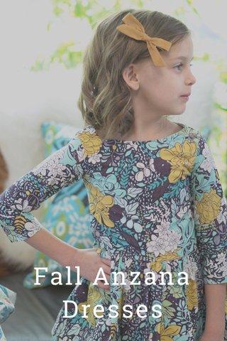 Fall Anzana Dresses