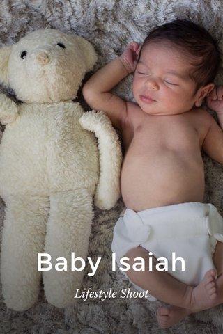 Baby Isaiah Lifestyle Shoot