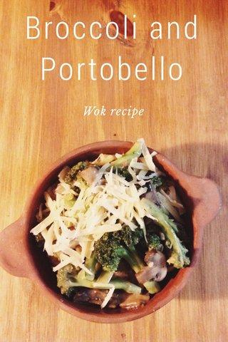 Broccoli and Portobello Wok recipe