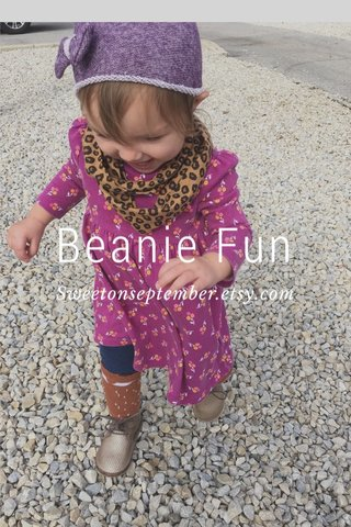 Beanie Fun Sweetonseptember.etsy.com