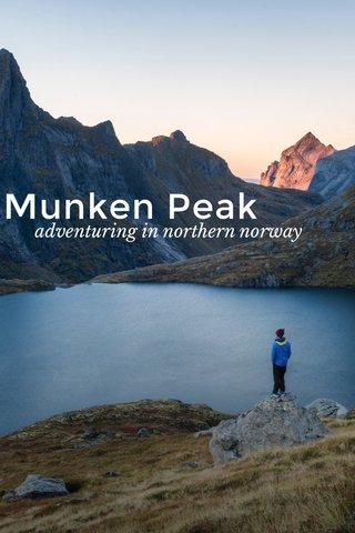 Munken Peak adventuring in northern norway