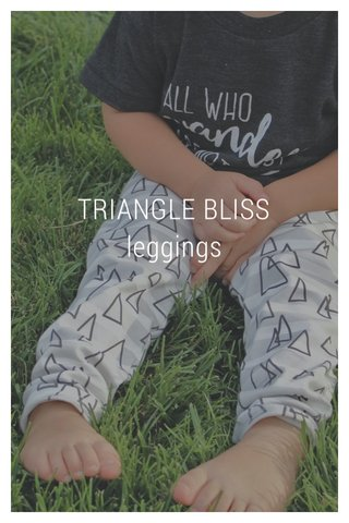TRIANGLE BLISS leggings