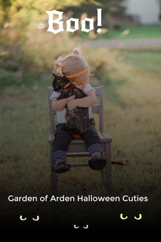 Boo! Garden of Arden Halloween Cuties
