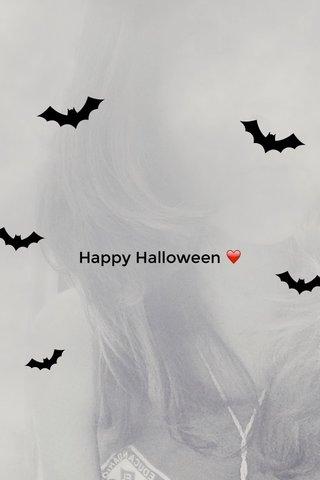 Happy Halloween ❤️