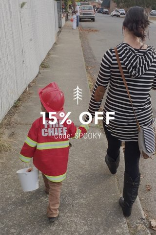 15% OFF Code: SPOOKY