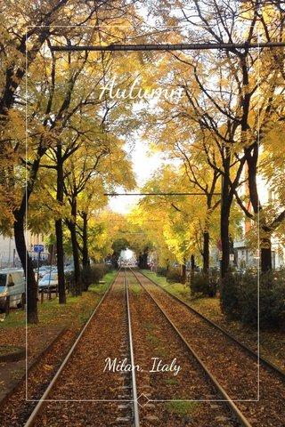 Autumn Milan, Italy