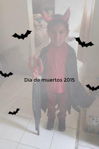 Día de muertos 2015
