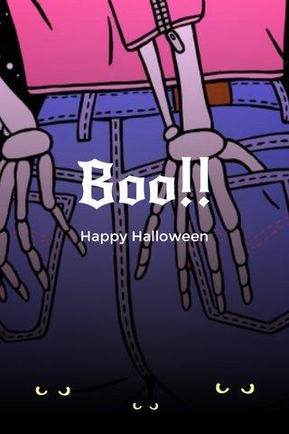 Boo!! Happy Halloween