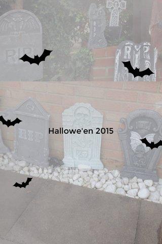 Hallowe'en 2015