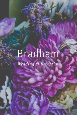 Bradham Wedding & Reception
