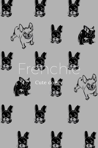 Frenchie Cute doggy