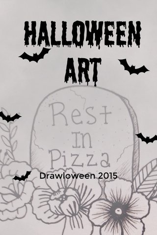 Halloween Art Drawloween 2015