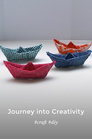 Journey into Creativity #craft #diy