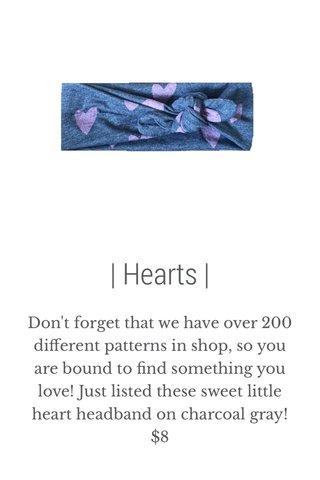 | Hearts |