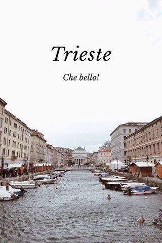Trieste Che bello!