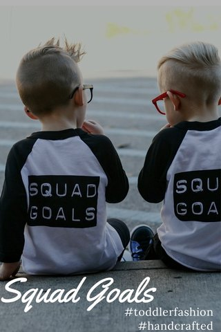Squad Goals #toddlerfashion #handcrafted