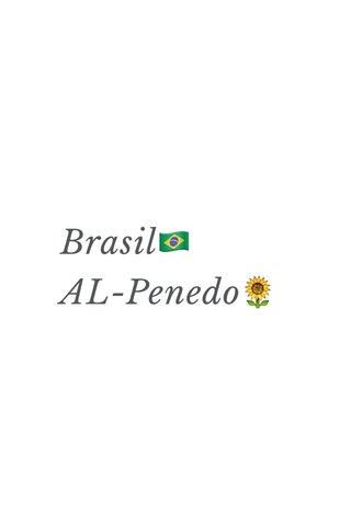 Brasil🇧🇷 AL-Penedo🌻