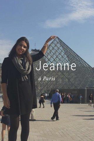 Jeanne à Paris