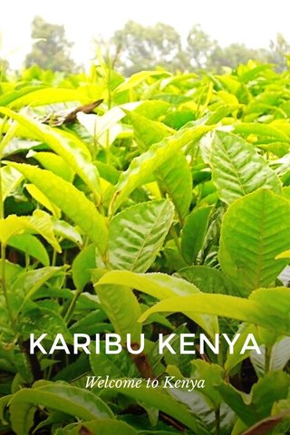 KARIBU KENYA Welcome to Kenya