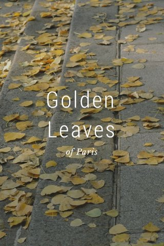 Golden Leaves of Paris