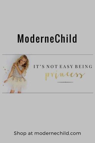 ModerneChild Shop at modernechild.com