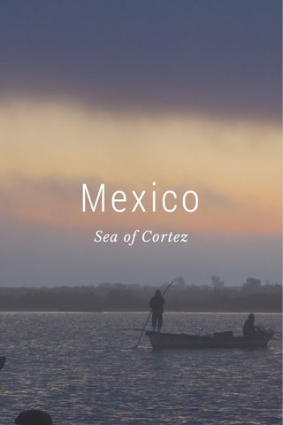 Mexico Sea of Cortez