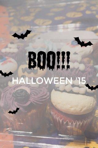 BOO!!! HALLOWEEN '15
