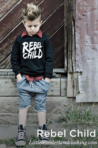 Rebel Child LittleWonderlandclothing.com