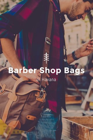 Barber Shop Bags In Havana