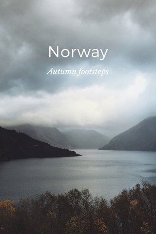 Norway Autumn footsteps